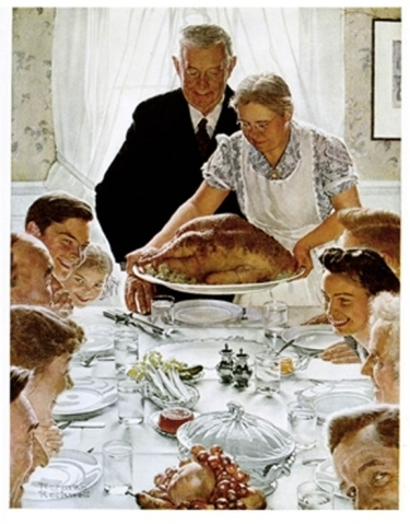 norman-rockwell-thanksgivig