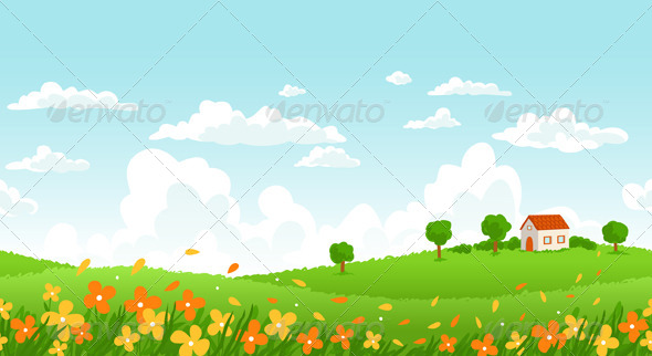 Sunny Day Landscape_preview