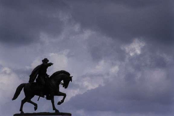 Houston statue